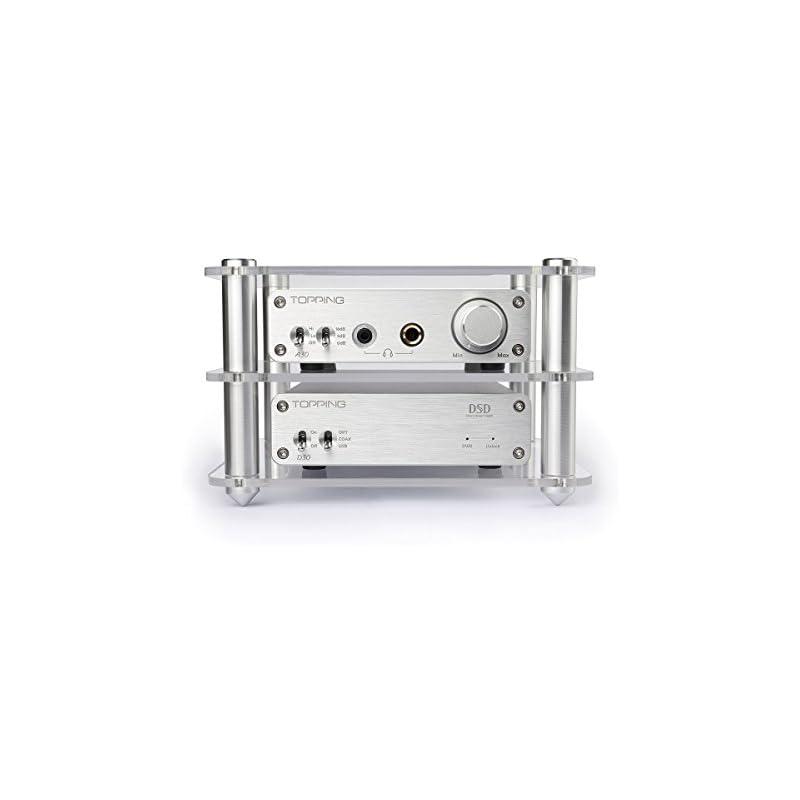 Topping D30 DSD USB DAC+A30 Headphone Am