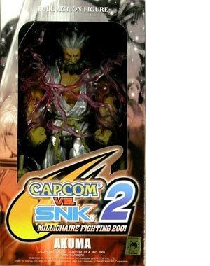 - Capcom vs. SNK 2 Series 2 Akuma Action Figure Silver Variant