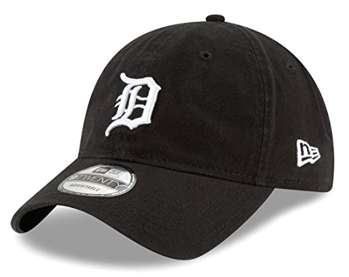 Detroit Tigers Core Classic Twill Black 9TWENTY Hat / Cap