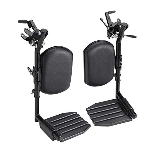 Invacare T94HAP Elevating Leg Rest Aluminum Footplates & Calf Pads
