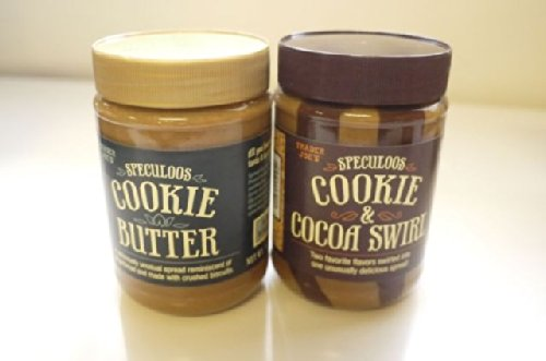 Trader Joe's Variety Pack - Speculoos Cookie Butter (1 Smooth and 1 Cocoa Swirl) - Total of 2 ()