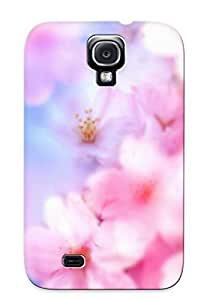 lintao diy [fduzxt-3613-utxxhxi]premium Phone Case For Galaxy S4/ Cherry Blossom Tpu Case Cover(best Gift Choice)