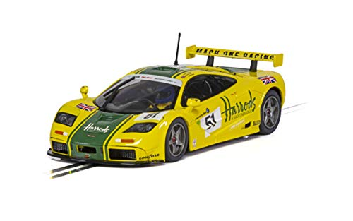 Scalextric Mclaren F1 GTR - Le Mans 1995 Harrods 1: 32 Slot Race Car C4026