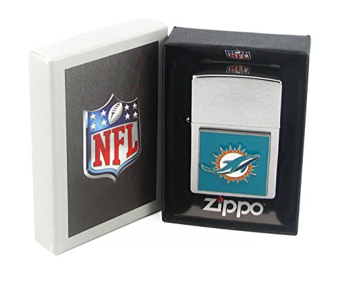 NFL Miami Dolphins Zippo Lighter by Siskiyou Gifts Co, Inc.