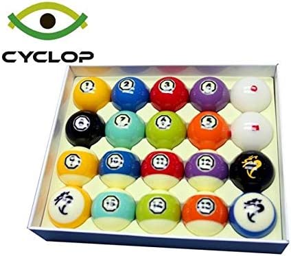 Cyclop Hyperion Tournament - Juego de Bolas de Billar y Piscina: Amazon.es: Deportes y aire libre