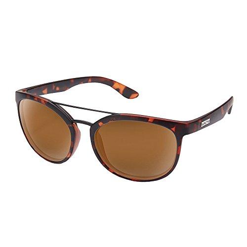 Suncloud Optics Liberty Injection Molded Sunglasses (Matte Tortoise,Brown)
