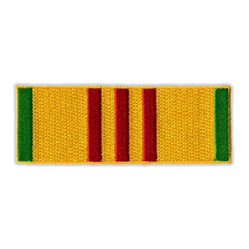 Patch (Sew On) - Vietnam War Service Ribbon Bar - Military - 3.5