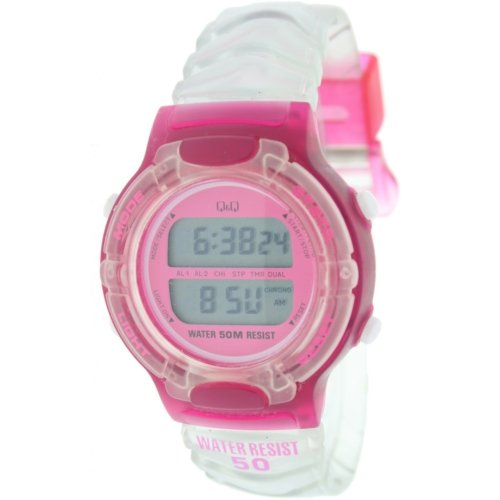 Reloj digital Señora Q&Q Mod.DR-12J-554 - 2 Alarmas, Crono