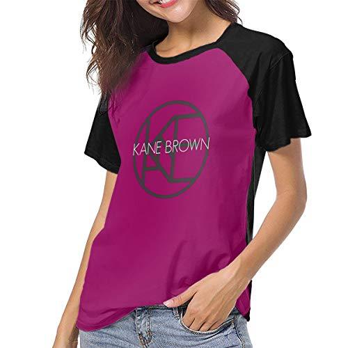 PEACE NEW STORE Women's Kane Brown Short Sleeve T-Shirt XL -