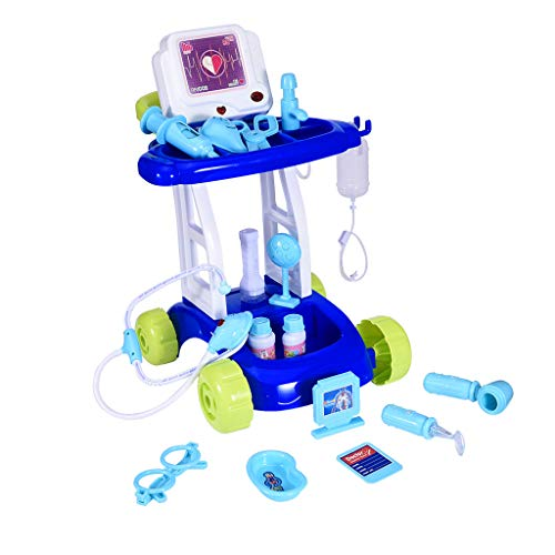 Doctor Pretend Play Set with Electric Analog X-ray Screen and Stethoscope Role Playing Game Preschool Educational Toy from SYgerks