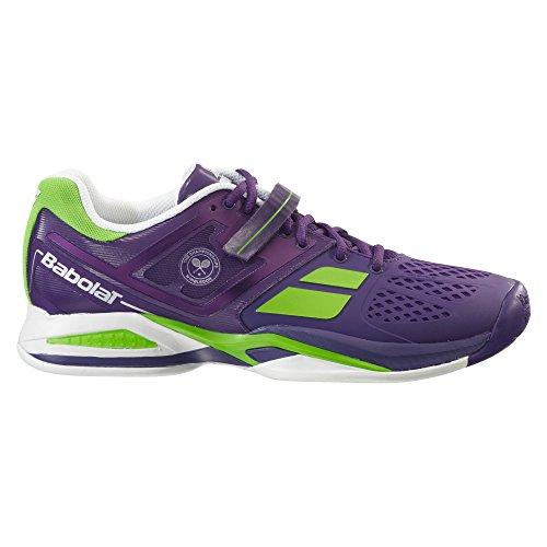 Babolat - Propulse AC Wimbledon Herren Tennisschuh (lila/hellgrün) dunkelviolett