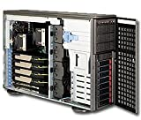 Supermicro 1400 Watt 4U Tower/Rackmount Server Chassis, Dark Gray (CSE-747TQ-R1400B)