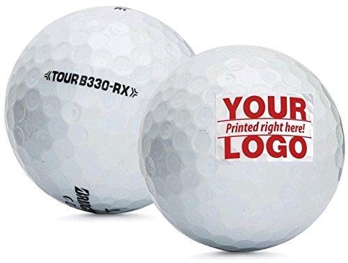5 Dozen Bridgestone Tour RX Custom Logo Golf Balls + Free Poker Chip Ball Marker