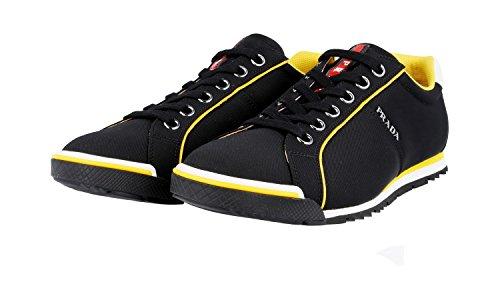 Sneaker In Pelle Prada Mens 4e2719 Oq6 F0002