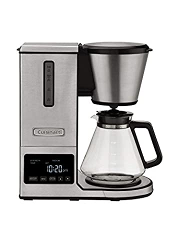 Cuisinart CPO-800 Pour Over Coffee Brewer Glass Carafe, Clear ()