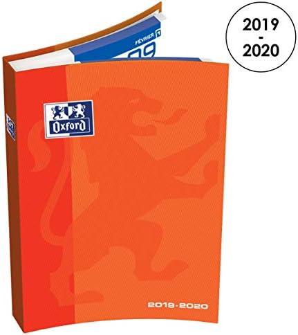OXFORD 100738257 School Agenda Scolaire journalier 2019-2020 1 Jour par Page 352