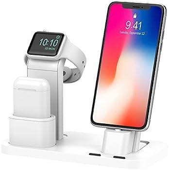 Amazon Com Yofew Apple Iwatch Stand Aluminum 4 In 1 Apple