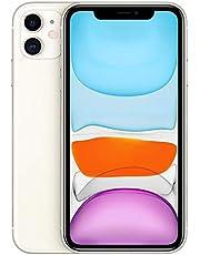 iPhone 11 Branco. com Tela de 6.1. 4G. 128 GB e Câmera de 12 MP - MHDJ3BR/A