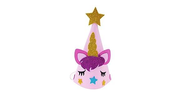Ruiting Gorro Unicornio,Gorro de Fiesta Sombrero de Fiesta ...
