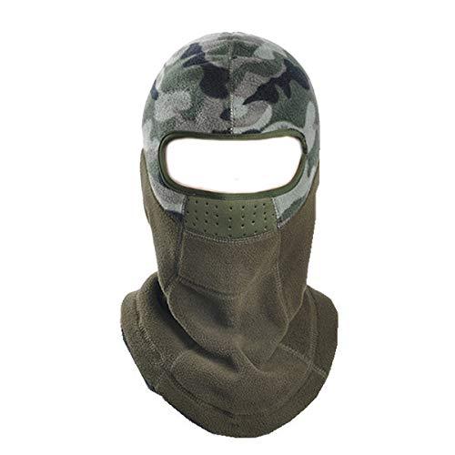 Plat Firm Unisexe en Plein air Chaud Coupe-Vent CS Polaire Casquette Masque de Joue Chapeau éQuitation Ski Chapeau Bonnet PC Sturdy