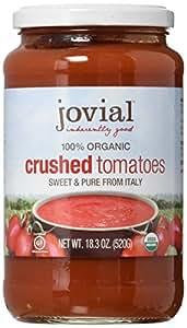 Jovial Organic Crushed Tomatoes - 18.3 OZ