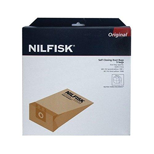Bolsas para aspiradora nilfisk 82222800 BUSINESS/FAMILY ...