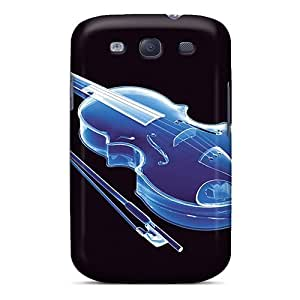 Galaxy S3 Case, Premium Protective Case With Awesome Look - 3dvioline