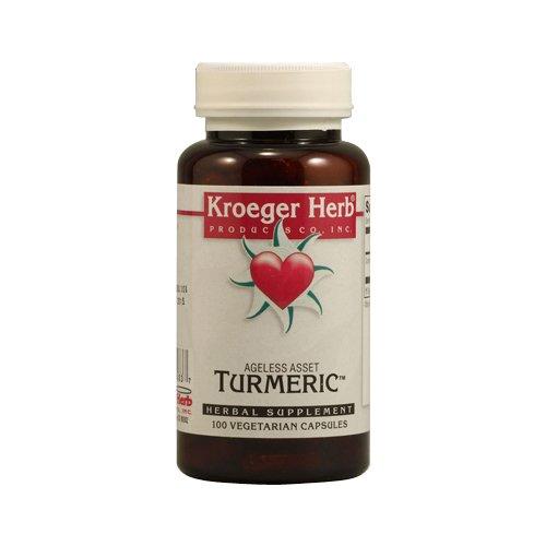 Capsules Kroeger Herb 100 (Kroeger Herb Turmeric, 100 Count)
