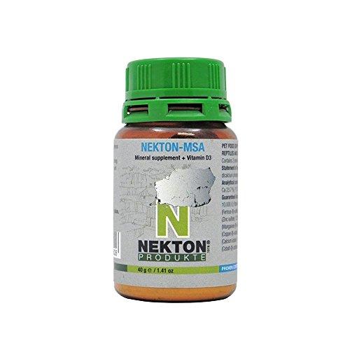 Nekton-MSA minerales y vitamina D3 pajaros y reptiles
