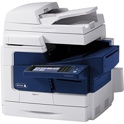 Xerox Colorqube 8700X Solid Ink Multifunction Printer . Color . Plain Paper Print . Desktop . Copier/Fax/Printer/Scanner . 44 Ppm Mono/44 Ppm Color Print . 2400 Dpi Print . 20 Ipm Mono/20 Ipm Color Copy (Iso) . Touchscreen Lcd . 600 Dpi Optical Scan . Aut