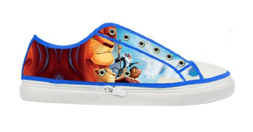 Lady's Nonslip Canvas Shoes with Rubber Soles for The Lion King Fans