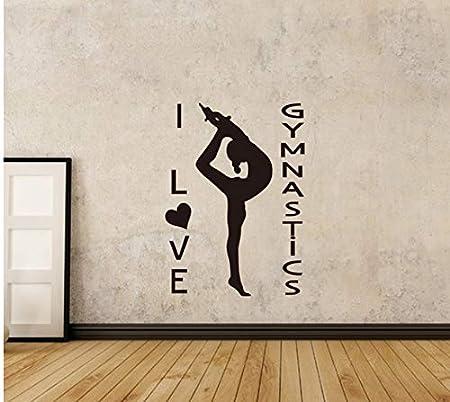 HHZDH Pegatinas De Pared De Yoga Posturas De Yoga Decoración ...