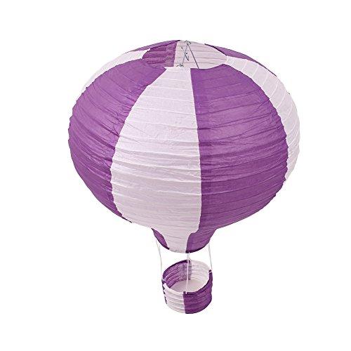 Kicode-Hot-Air-Balloon-16-Inch-Chinese-Paper-Lantern-Set-Foldable-Xmas-Festival-Decor-Party-Supplies-Happy-Birthday-Wedding