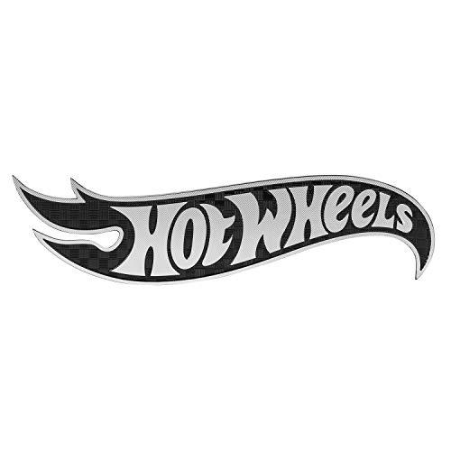 (Pilot Automotive HOT-0004 Hot Wheels Carbon Fiber Logo Emblem)