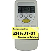Replacement for Harbor Point Air Conditioner Remote Control Model Number: ZHF/JT-01