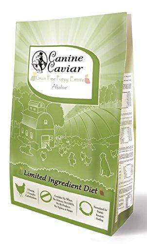 Canine Caviar Dry Puppy Chicken/Pea, 11 lb (Pet Caviar Food Canine)