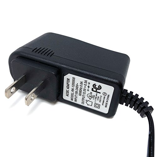 Powersports Battery Trickle Charger 12v 500MA 0.5A Lead Acid Battery with LED Status Indicator by MMG (Image #1)
