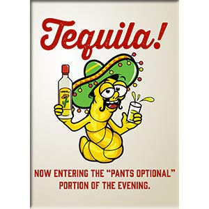 C&D Visionary Tequila! - Lunch Hour Productions Exclusive Artwork, Fridge Magnet, 2.5