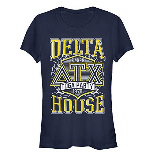 Animal House Juniors' Delta Toga Party Navy Blue - Animal House Toga