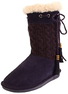 Bearpaw Womens Constantine Solid Knit Winter Boot Shoe, Concord, US 7 (B001NG3WXC)   Amazon price tracker / tracking, Amazon price history charts, Amazon price watches, Amazon price drop alerts