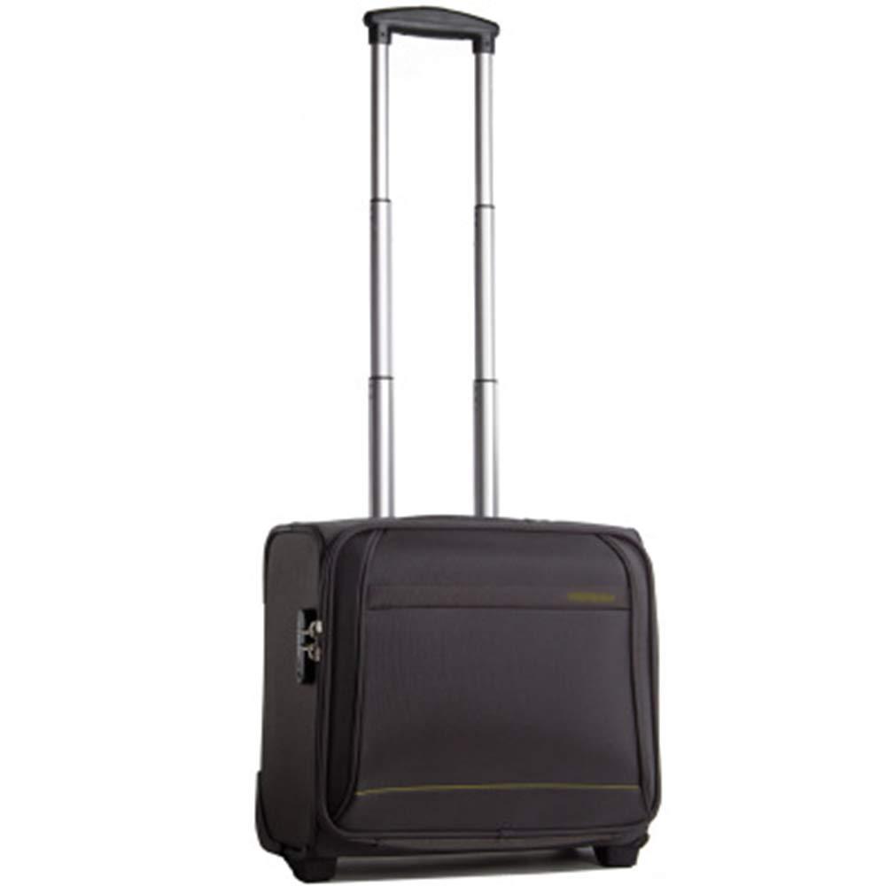 Mei Xu 荷物セット トロリーケース - 16インチの断面防水荷物ビジネスの搭乗用スーツケース旅行トロリーボックスアテンダント4色オプション トラベルエッセンシャル (色 : Gray)  Gray B07MP234MJ