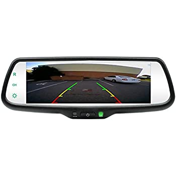 amazon com rostra 250 8273 rearview mirror with built in