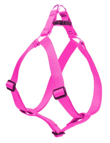 """LupinePet 3/4"""" Hot Pink 15-21 Step In Dog Harness"""