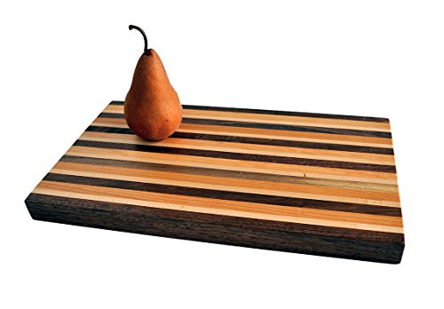 Woodworker's Classic American Hardwood Butcher Block Cutting Board, Medium