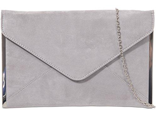 Gris multicolore fi9® pour Pochette femme gris 7w8zw1vqn