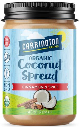Organic Coconut Spread, Cinnamon & Spice, 12 oz, Organic Pure Goodness