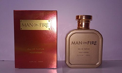 Man On Fire By: Yzy 3.3 oz EDP, Men's ~Free Gift With Order~