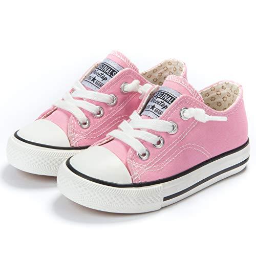 Weestep Canvas Sneaker (1, Pink)