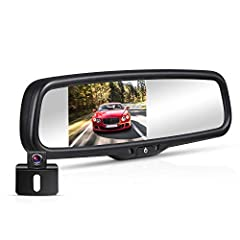 BOSCAM K4 Rear View Camera Kit Parking Reverse Assist SystemSpecial FeatureBoth the rearview mirror and reverse camera is powered by the reversing light of the vehicle, throwing away the traditional method, reduce the steps. Easy Installation...