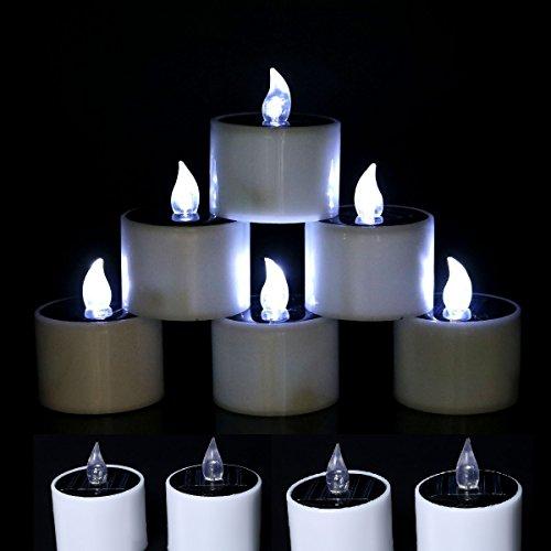Led Solar Candle Lights